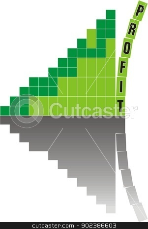 Shakeout stock vector clipart, Fall of baby blocks symbolizing crisis stock, vector illustration by Čerešňák