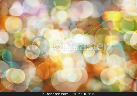 Blurred abstract pattern - light background stock photo, Blurred abstract pattern - circle light photo background by Alexey Romanov