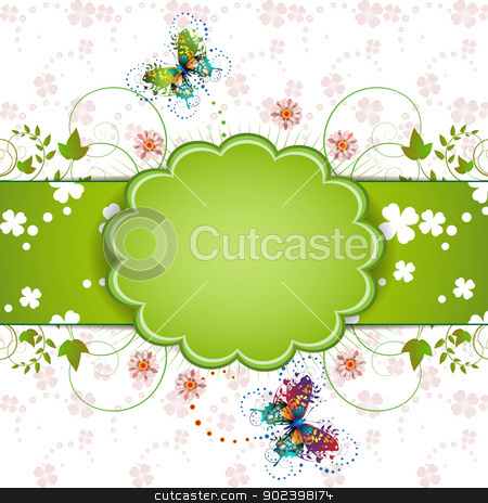 Banner design stock vector clipart, Banner design for St. Patrick's Day card   by Merlinul