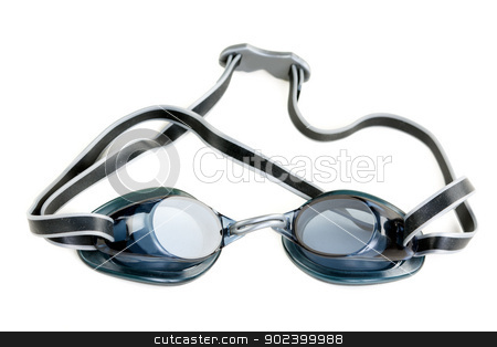 goggles for swimming stock photo, goggles for swimming isolated on white background by Ruslan Kudrin