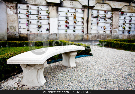 Cemetary architectures - Europe stock photo, Collection of architectures examples in European cemetaries by Perseomedusa