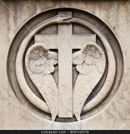 Cemetery architecture - Europe stock photo, Collection of the most beautiful and mysterious architectures examples in European cemeteries by Perseomedusa