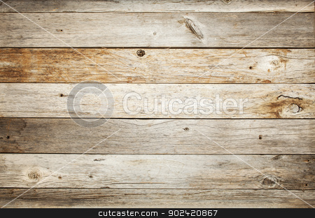 rustic barn wood background stock photo, rustic weathered barn wood background with knots and nail holes by Marek Uliasz