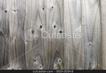 Textured wooden fence stock photo, Abstract background of textured wooden fence. by Martin Crowdy