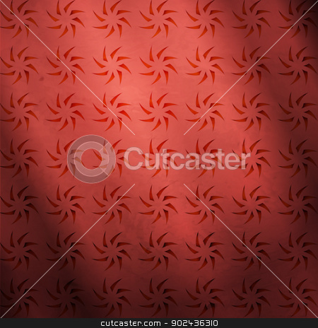 flower grid stock vector clipart, new abstract pattern with structured ornament can use like seamless wallpaper  by metrue