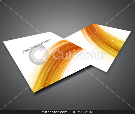 abstract Professional business brochure design  stock vector clipart, abstract Professional business brochure design  by bharat pandey