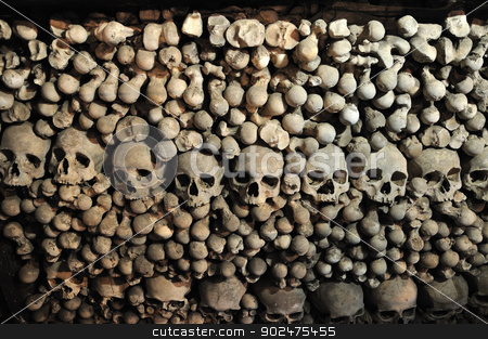Kutna Hora, Kostnice, Sedlec Ossuary, Czech republic stock photo, Church in Kutna Hora, Czech republic, Sedlec Ossuary by Karolina Vyskocilova
