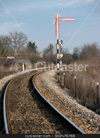 railroad stock photo,           railroad                      by budastock