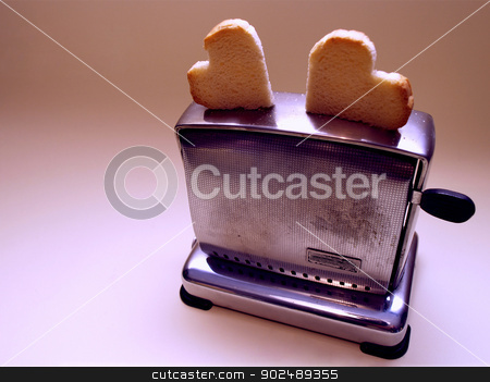 Toaster stock photo, Toaster wedding edition by shufu