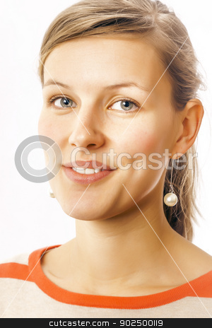 smiling women stock photo, An image of a beautiful smiling women by Markus Gann