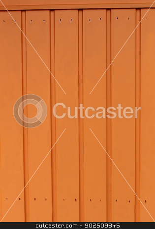 Brown wooden background stock photo, Abstract background of brown textured wood on chalet. by Martin Crowdy