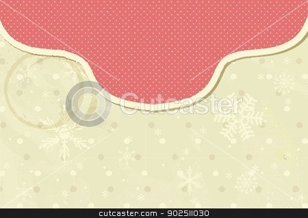 Vintage vector frame on floral background stock photo, Vintage vector frame on floral background by Maria Cherevan