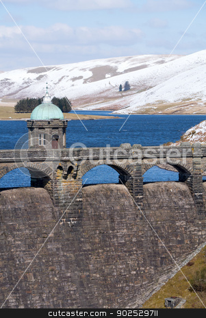 Craig Goch reservoir, Elan Valley, Wales UK. stock photo, Craig Goch reservoir, Elan Valley, Wales UK. by Stephen Rees