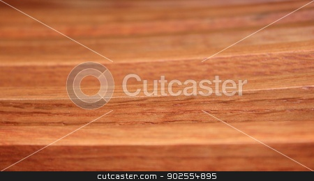 Wood Lines stock photo, Close up of the wood planks from a chair. by Henrik Lehnerer