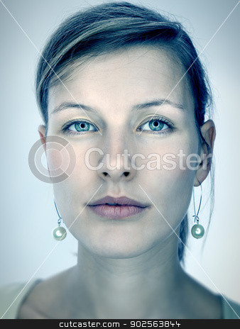 beautiful women stock photo, An image of a beautiful strange colored women by Markus Gann
