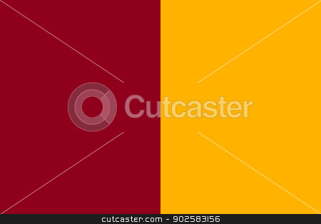 City of Rome Flag stock photo, Official flag of city of Rome in Italy by Martin Crowdy