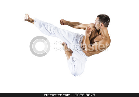 taekwondo martial arts master stock photo, An image of a taekwondo martial arts master by Markus Gann