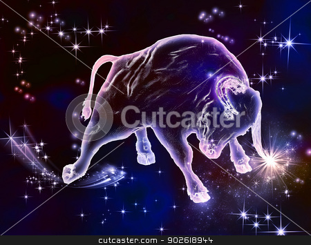 Taurus_Bull stock photo, Powerful beauty, beautiful force, that what the sign of Taurus is. April and May are the months of Bull. Enjoy this amazing astrological animal.  by Helein
