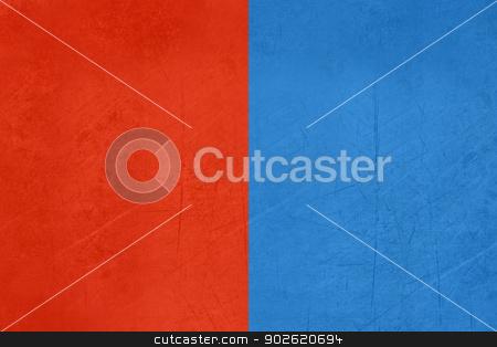 Grunge flag of Catania region of Italy stock photo, Grunge flag of Catania region of Italy by Martin Crowdy