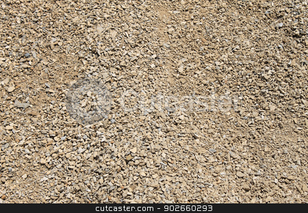 Abstract gravel background stock photo, Abstract background of small stones and gravel. by Martin Crowdy