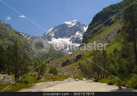Beautifull mountain landskape stock photo, Beautifull mountain landskape by Alexey Kozak