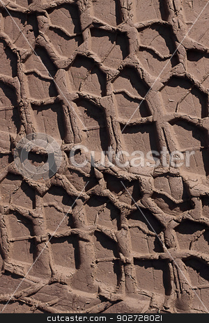 Tire tracks stock photo, Tire tracks on a dirt road by Yulia Chupina