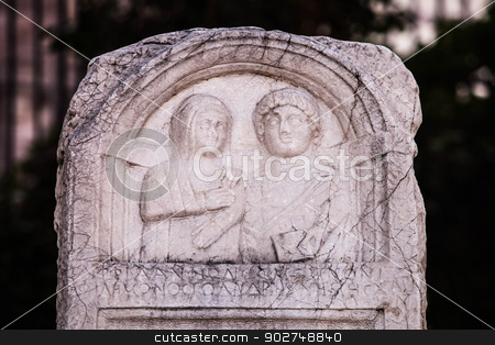 Ancient Stone Relief stock photo, Stone relief in Ankara by Scott Griessel