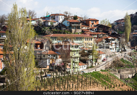 Residential area in Ankara stock photo, Typical residential area in Ankara by Scott Griessel