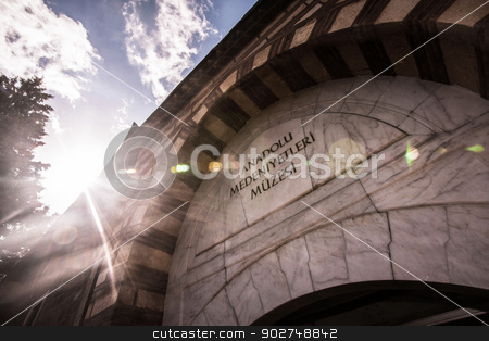 Museum of Anatolian Civilizations stock photo, Museum of Anatolian Civilizations in Ankara - Anadolu Medeniyetleri Muzesi by Scott Griessel