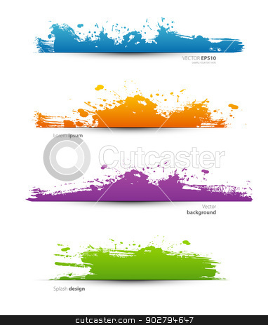 Spot set stock vector clipart, Vector illustration of Spot set by SonneOn
