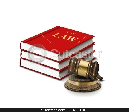 Books of Law and Gavel stock photo, Books of Law and Gavel by Mohamad Razi Bin Husin