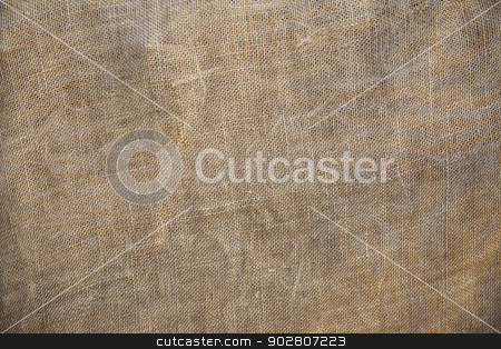Rustic Old Fabric Burlap Texture Background stock photo, Rustic Old Fabric Burlap Texture Background Abstract.  by Andy Dean