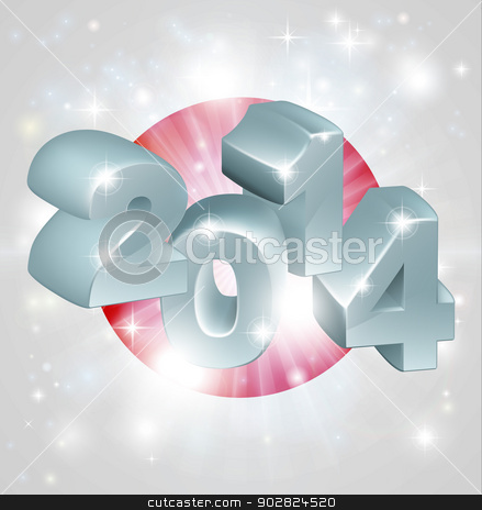 2014 Japan flag stock vector clipart, Flag of Japan 2014 background. New Year or similar concept by Christos Georghiou