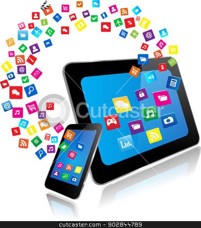 Smartphone Tablet Computer Clip Art Cliparts