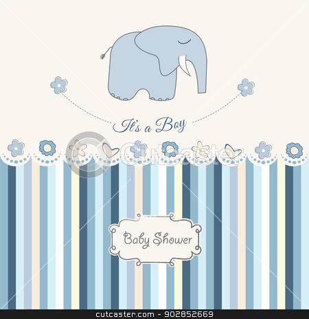 new baby boy announcement card stock vector – New Baby Boy Announcement