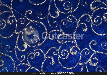 Blue Christmas Background Horizontal stock photo, Blue Christmas Background for Wallpaper or Background by jetcityimage