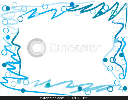 Lines & Dots  stock vector clipart, Lines & Dots abstract wallpaper in blue and white by Mihaly Pal Fazakas