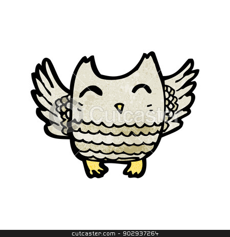 Retro owl cartoon - photo#19