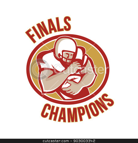 American Football Running Back Finals Champions