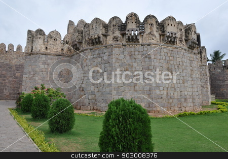 Golconda Fort in Hyderabad stock photo, Golconda Fort in Hyderabad, India by Ritu Jethani