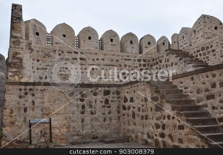 Golconda Fort in Hyderabad stock photo, Golconda Fort in Hyderabad, India by Ritu Jethani