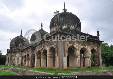 Qutb Shahi Tombs in Hyderabad stock photo, Qutb Shahi Tombs in Hyderabad, India by Ritu Jethani