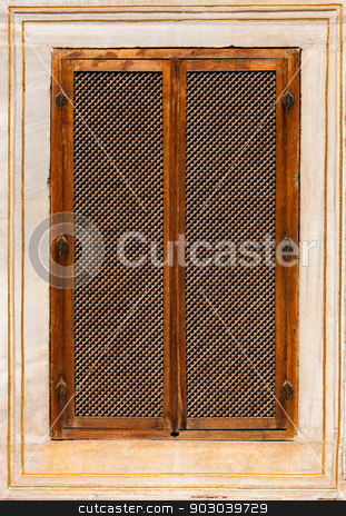 Turkish Window Screen stock photo, Turkish Window Screen from Ottoman Era Building by Scott Griessel