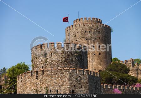 Rumelian Castle stock photo, Rumelian Castle along the Bosphorus in istanbul by Scott Griessel