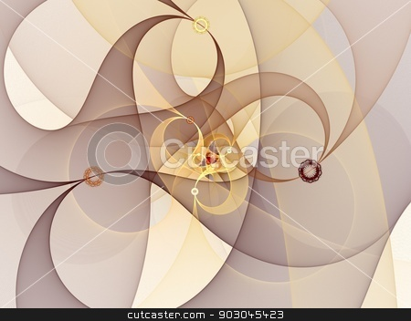 Sophisticated spiral stock photo, Sophisticated spiral in pastel tones by Natalia Macheda