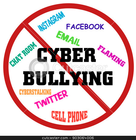 cyber bullying stock photo, cyber bullying by CHERYL LAFOND