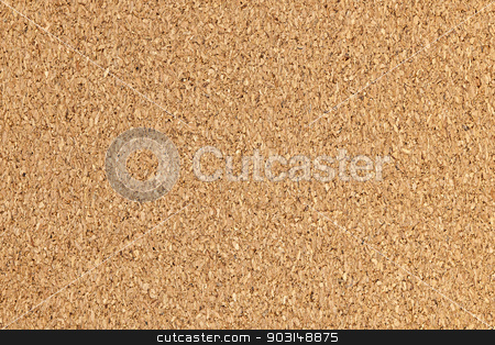 Corkboard background texture stock photo, Brown cork board background surface with texture by Elena Elisseeva