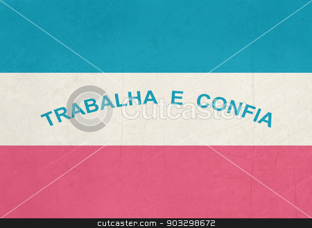 Grunge state flag of Espirito Santo in Brazil stock photo, Grunge state flag of Espirito Santo in Brazil. by Martin Crowdy