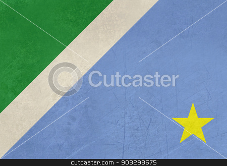 Grunge state flag of Mato Grosso do Sul in Brazil stock photo, Grunge state flag of Mato Grosso do Sul in Brazil. by Martin Crowdy