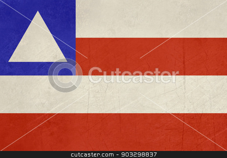 Grunge state flag of Bahia in Brazil stock photo, Grunge state flag of Bahia in Brazil. by Martin Crowdy